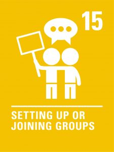 Article 15 (Setting up or joining groups)