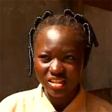 Alizeta from Burkino Faso