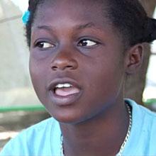 Christine from Haiti