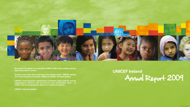 UNICEF Ireland Annual Report 2009