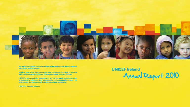 UNICEF Ireland Annual Report 2010
