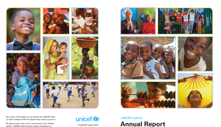 UNICEF Ireland Annual Report 2012