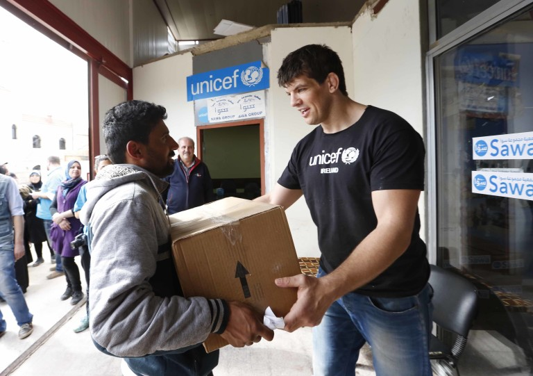 Donncha Lebanon Food Distribution