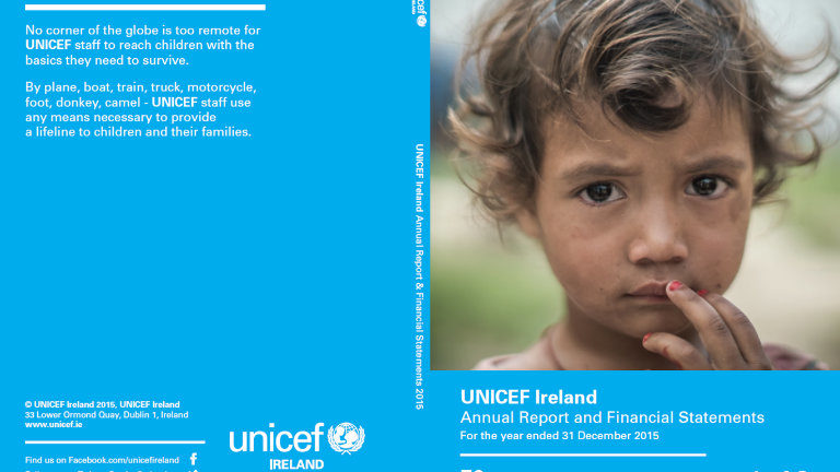 UNICEF Ireland Annual Report 2015
