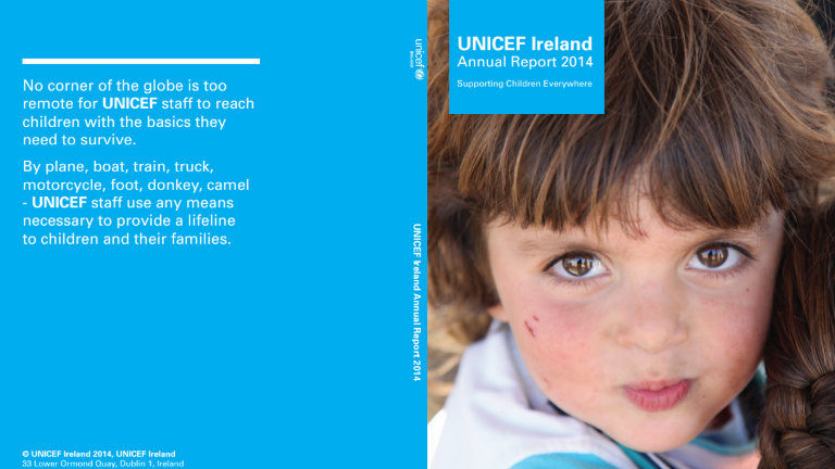 UNICEF Ireland Annual Report 2014