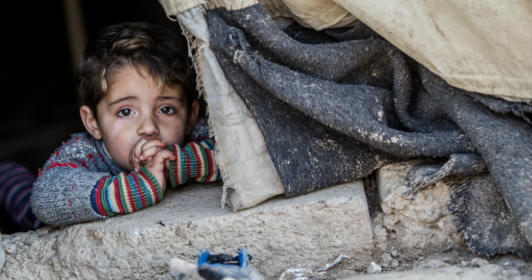 Syria in winter is no place to be a child at Christmas