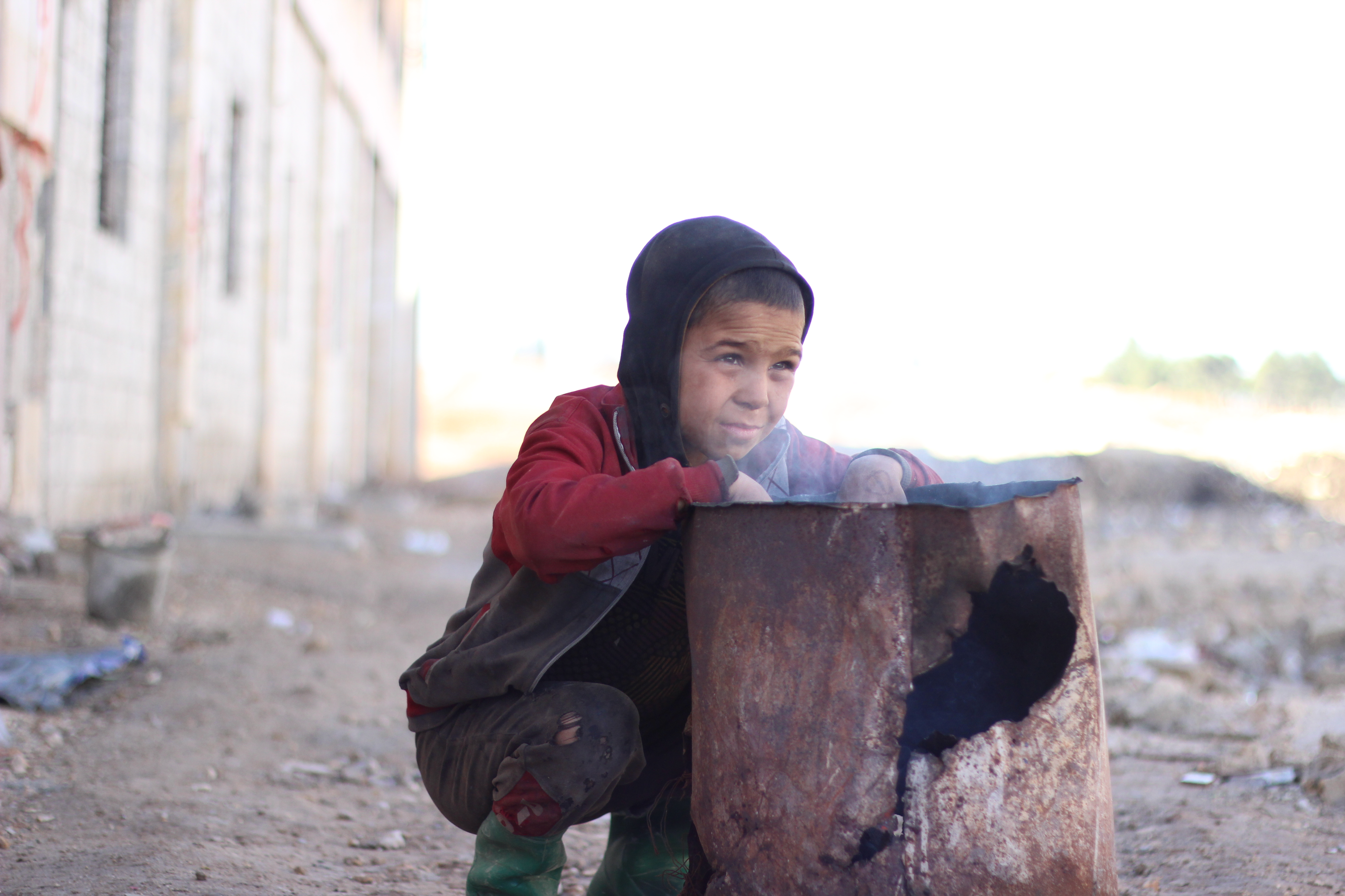 Winter is the latest threat to children in conflict-ridden Aleppo