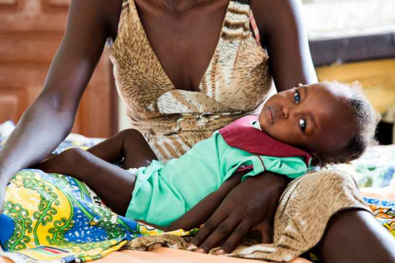 Therapeutic feeding centres provide lifesaving treatment to children affected by famine in South Sudan.