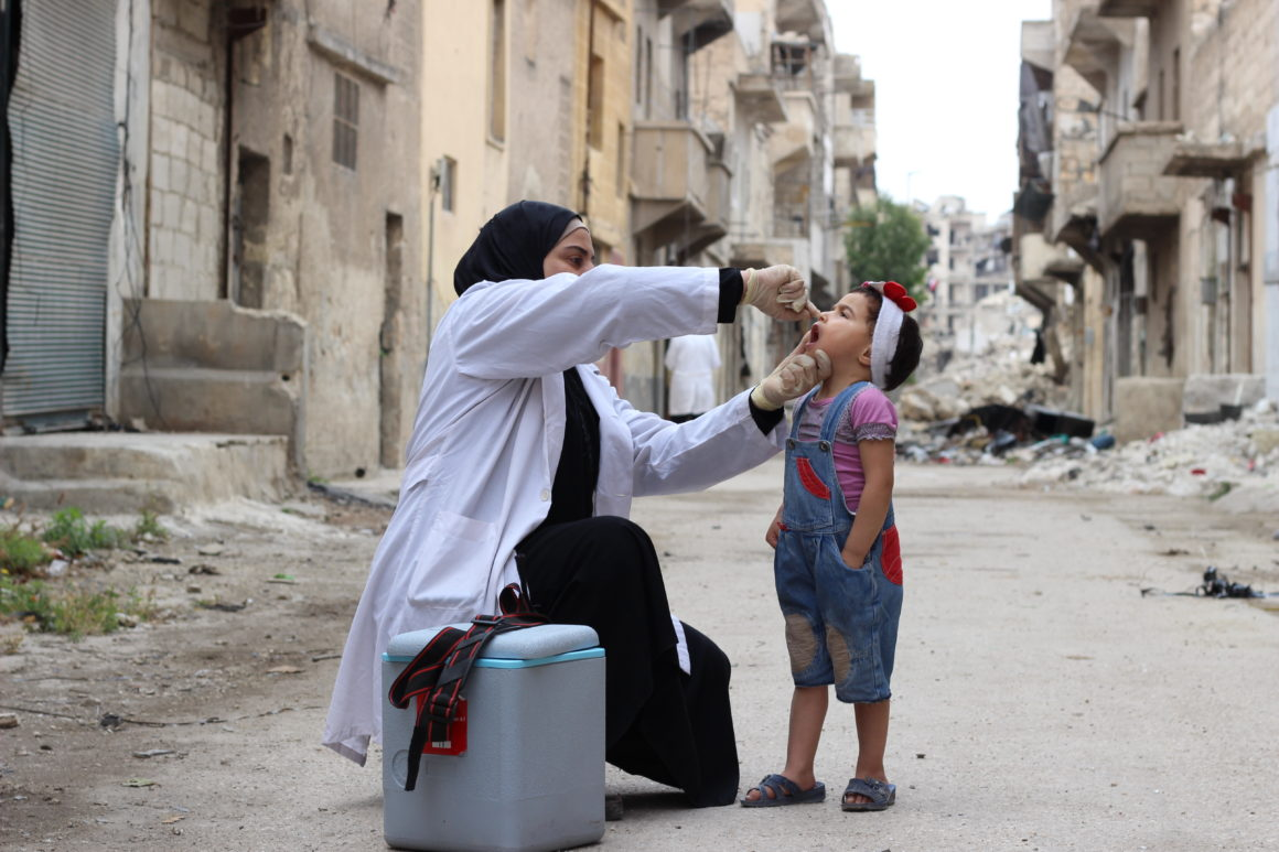 Massive Measles Vaccination Drive In Syria Reaches Millions Under