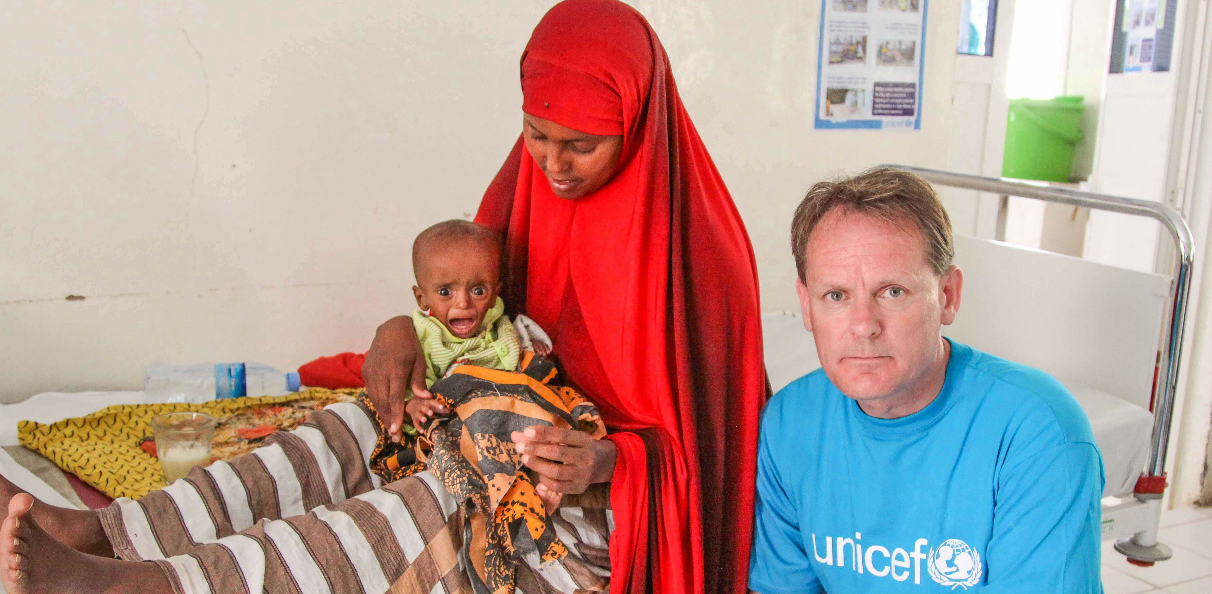 Hassan's story - UNICEF Ireland Chief on meeting critically ill children in Somalia
