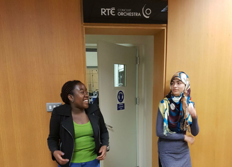 LISTEN: UNICEF Youth Ambassadors talk Direct Provision on RTÉ