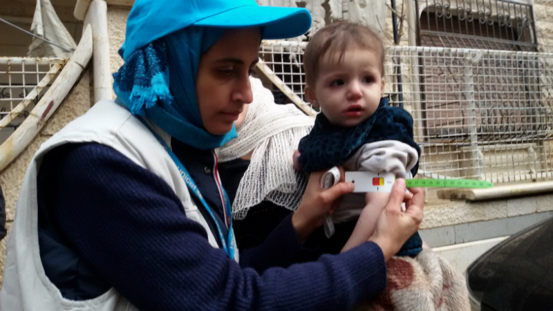The Difference Emergency Food Can Make for Children in Syria
