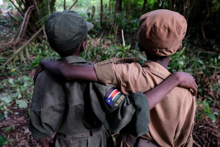 UPDATE: 800 children released from armed groups in South Sudan