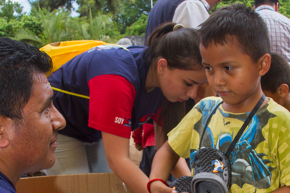 UNICEF helps Guatemalan children start again