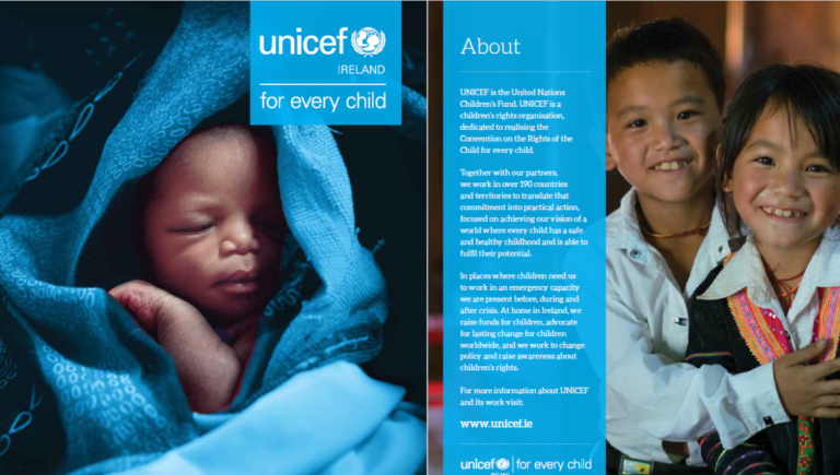UNICEF Ireland Annual Report 2017