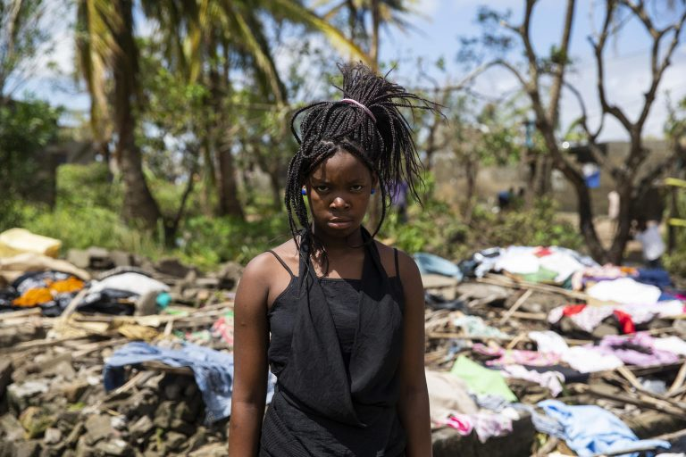 Childen affected by Cyclone Idai