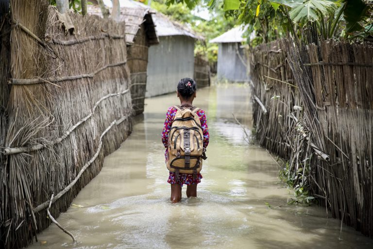 Climate Change Clouds the Future of Children in Bangladesh